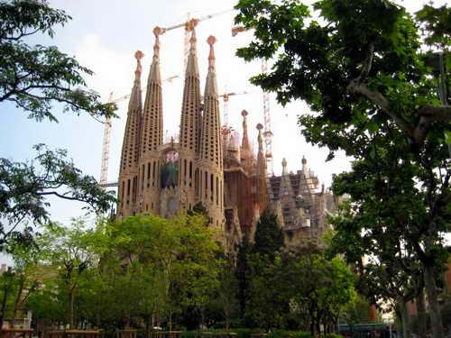 Барселона Гауди Собор Святого Семейства