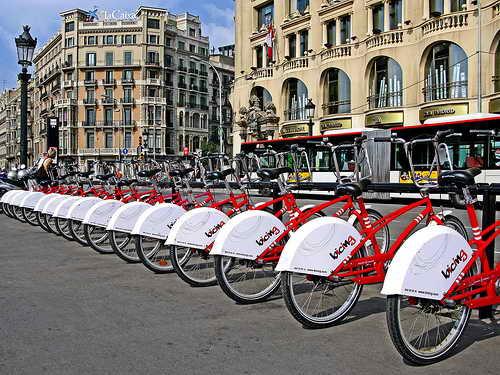 Аренда велосипедов Барселона