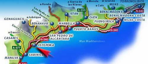 Коста-дель-Соль — курортное побережье Испании
