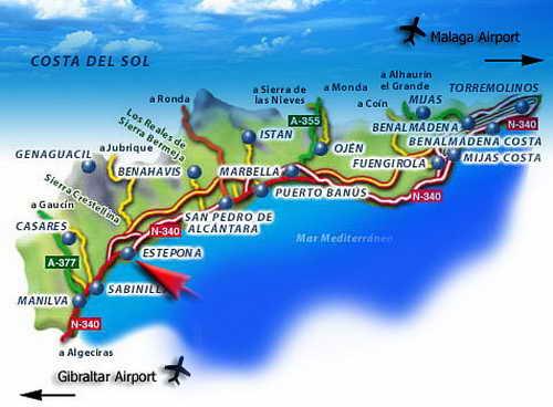 Побережье Коста дель Соль