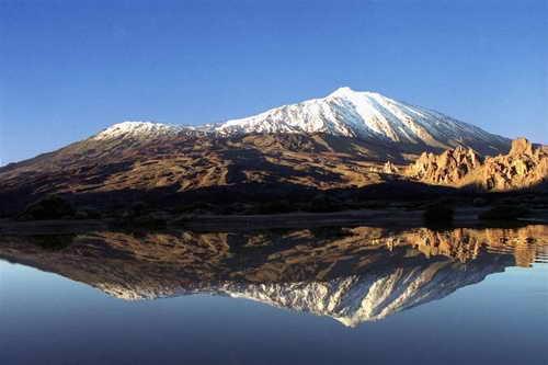 Тенерифе вулкан Тейде
