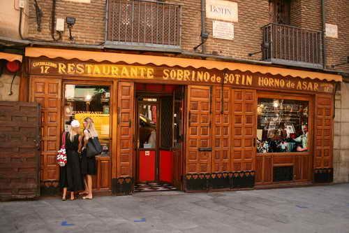 Рестораны Мадрида Сабрина де Ботин