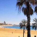 Барселона Отдых на пляже